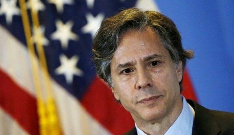 Secretario de Estado de Estados Unidos. Antony Blinken. Foto: Reuters.