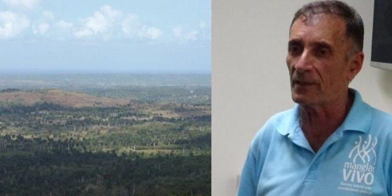 Iván Martínez Bordón, Especialista del Ministerio de Ciencia, Tecnología y Medio Ambiente en Mayabeque.