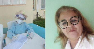 Enfermera jaruqueña Migdalia. Foto cortesía de la entrevistada