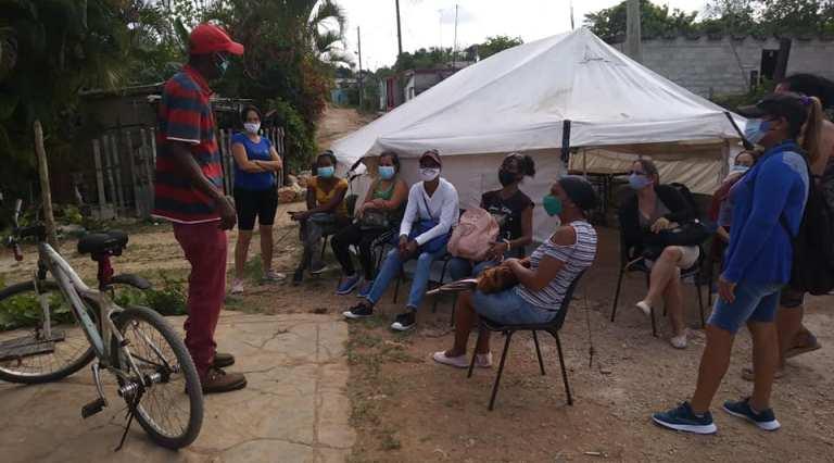 Laboran Grupos Temporales de Trabajo en Jaruco