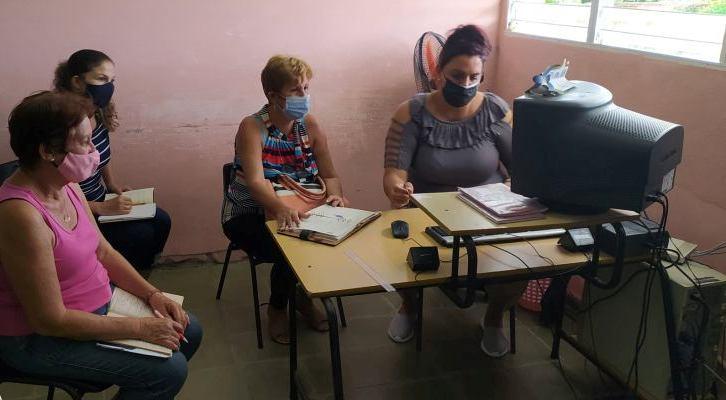 Escuela Primaria Raúl Hernández de Jaruco. Foto tomada de su perfil de Facebook