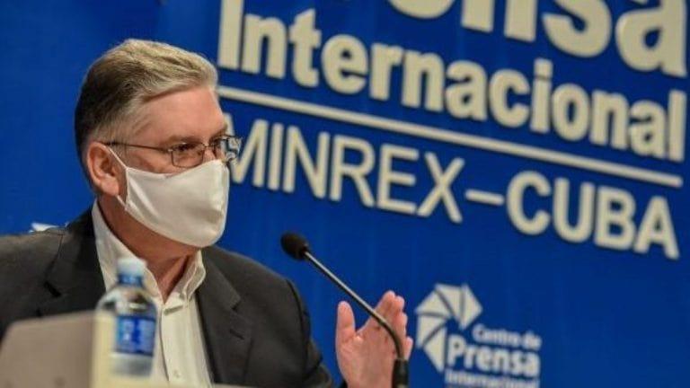 Viceprimer ministro y titular de Economía y Planificación, Alejandro Gil Fernández. Foto: Ariel Cecilio Lemus.