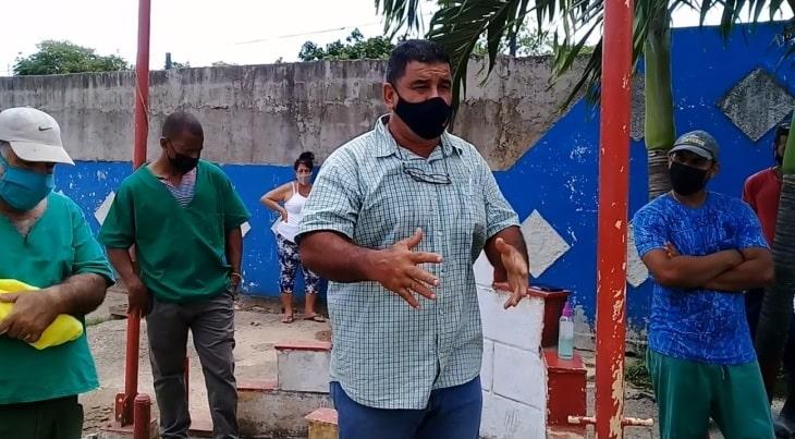 Osmany Mayor Montejo, trabajador de la fábrica de piensos Rómulo Padrón de Jaruco. Foto Arnay Acosta