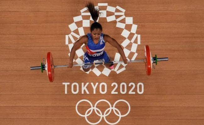 Ludia Montero logró la mejor actuación para una pesista cubana en Juegos Olímpicos. Foto: Tomada de Granma.