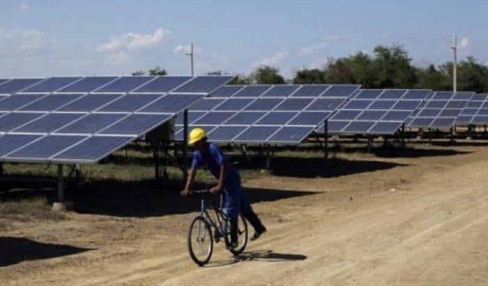 Parque Solar Fotovoltaico Santa Teresa en Guantánamo. Foto: IPS.