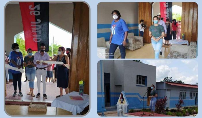 Reinauguran preuniversitario de Jaruco este 26 de julio. Foto Dirección Municipal de Educación