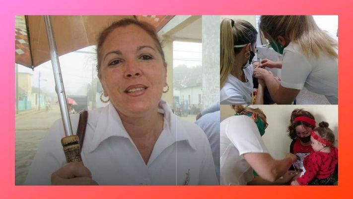 Sibil Misas Vega, asesora del Programa de Inmunización en Jaruco. Foto Marlene Caboverde