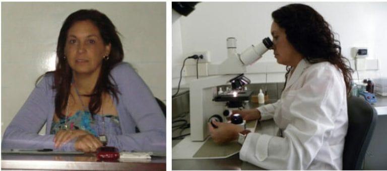 Investigadora del Departamento de Fisiología y Bioquímica Vegetal del INCA, Doctora en Ciencias María Caridad Nápoles García. Foto: Radio Camoa