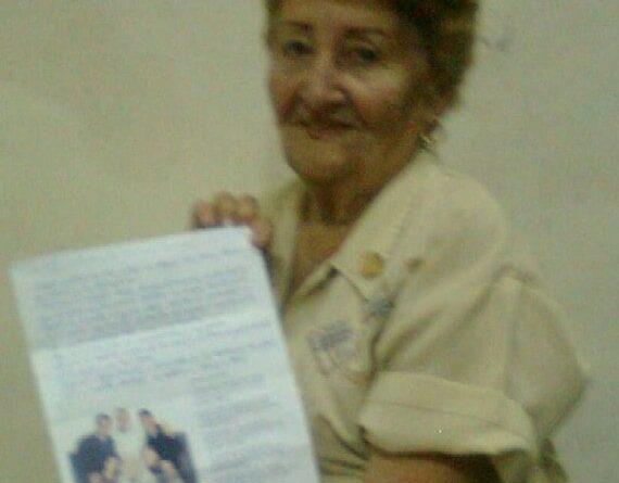 Destacada federada jaruqueña Carmen de Armas. Foto de Archivo