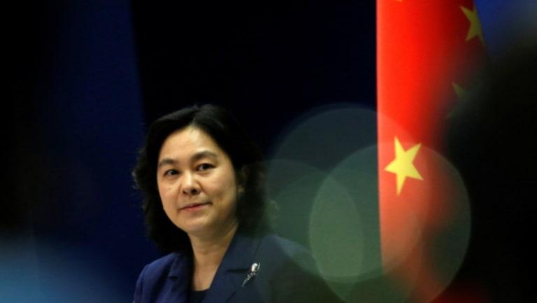 Hua Chunying, portavoz del Ministerio de Exteriores chino. Foto: Tingshu Wang / Reuters.