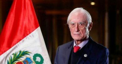 Héctor Béjar, Ministro de Relaciones Exteriores de Perú. Foto: AFP