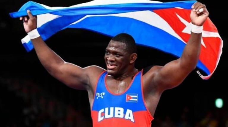 Mijáin López impresiona porque con 38 años y cuatro títulos olímpicos que lo convierten en el luchador más laureado de todos los tiempos. Foto: Reuters.