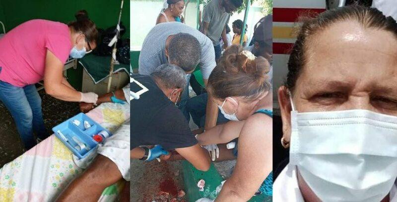 Enfermera de #Jaruco, Midalis Álvarez García