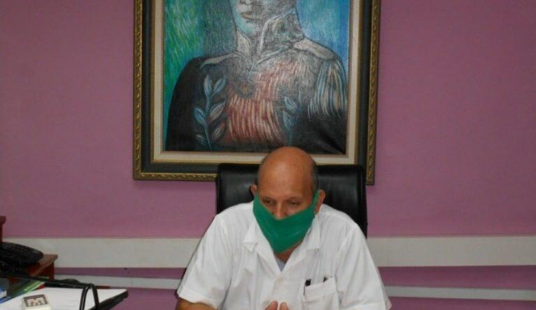 Doctor Luis Armando Wong Corrales, Director Provincial de Salud Pública en Mayabeque.