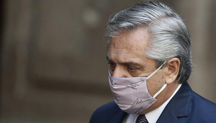 El presidente argentino, Alberto Fernández. Foto: AP.