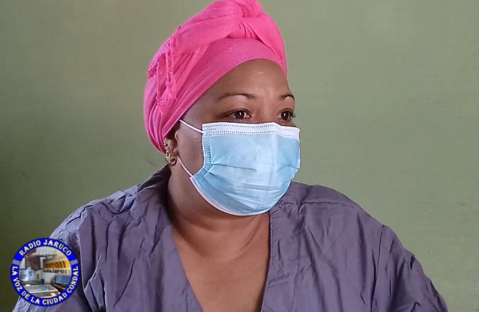 Anayza Torres Menéndez, enfermera de la brigada médica cubana Henry Revve. Foto: Anelis Díaz.