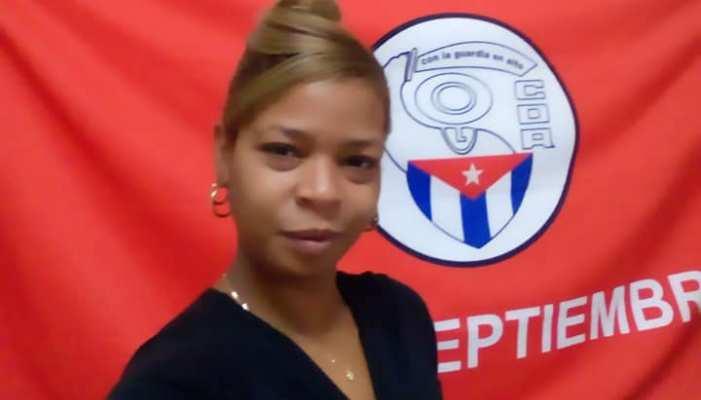 Foto: Tomada del perfil de Facebook de Dayrelis Martínez, funcionaria de los CDR en Mayabeque.