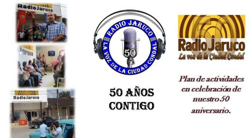 Plan de actividades 50 Aniversario de Radio Jaruco